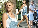 *** Fee of £200 applies for subscription clients to use images before 22.00 on 121015 *** EXCLUSIVE ALLROUNDERLeonardo DiCaprio introduces his girlfriend Kelly Rohrbach to his parents as the family host a pool party at their Silverlake house in Los Angeles. The couple also stopped by Leo's favorite childhood Mexican eatery Yuca's in Los Feliz with his best friend  Lukas Haas and girlfriend Kelly. Featuring: Leonardo DiCaprio Where: Los Angeles, California, United States When: 10 Oct 2015 Credit: Cousart/JFXimages/WENN.com **ONLY AVAILABLE FOR PUBLICATION IN THE UK AND NEW YORK NEWSPAPERS**