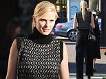 October 12, 2015: October 12, 2015  Lara Stone arrives at the Mademoiselle Prive exhibition in London.  Non Exclusive Worldwide Rights Pictures by : FameFlynet UK � 2015 Tel : +44 (0)20 3551 5049 Email : info@fameflynet.uk.com