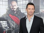 """NEW YORK, NY - OCTOBER 04:  Hugh Jackman attends """"Pan"""" premiere at Ziegfeld Theater on October 4, 2015 in New York City.  (Photo by Neilson Barnard/Getty Images)"""