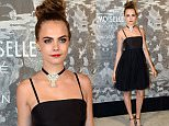 Mandatory Credit: Photo by Richard Young/REX Shutterstock (5231368bz)\n Cara Delevingne\n Chanel Exhibition Party at Saatchi Gallery, London, Britain - 12 Oct 2015\n \n