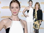 EAST HAMPTON, NY - OCTOBER 11:  Actress Emily Blunt attends the Awards Dinner on Day 4 of the 23rd Annual Hamptons International Film Festival on October 11, 2015 in East Hampton, New York.  (Photo by Matthew Eisman/Getty Images for Hamptons International Film Festival)