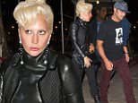 Lady Gaga and fiance Taylor Kinney head to Joanne Trattoria for late night dinner date in NYC Caption: Lady Gaga shows her biker style in leather motorcycle jacket and boots with fiance, Taylor Kinney to Joanne Trattoria for late night dinner date in NYC. She wore all black  while he dressed casual in hat and trousers to visit her parents for a home cooked meal.  Pictured: Lady Gaga Ref: SPL1149375  111015   Picture by: @PapCultureNYC / Splash News  Splash News and Pictures Los Angeles: 310-821-2666 New York: 212-619-2666 London: 870-934-2666 photodesk@splashnews.com  Photographer: @PapCultureNYC / Splash News Loaded on 12/10/2015 at 04:28 Copyright: Splash News Provider: @PapCultureNYC / Splash News  Properties: RGB JPEG Image (23833K 2343K 10.2:1) 2437w x 3338h at 72 x 72 dpi  Routing: DM News : GroupFeeds (Comms), GeneralFeed (Miscellaneous) DM Showbiz : SHOWBIZ (Miscellaneous) DM Online : Online Previews (Miscellaneous)