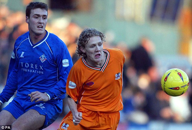 Starting out: Bullard made a name for himself at Peterborough before being snapped up by Wigan in 2003