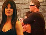 *EXCLUSIVE* *SHOT ON 10/9/15* Studio City, CA - Beautiful actress Sandra Bullock seems to have stars in her eyes as she is spotted dining with photographer boyfriend, Bryan Randall, at celebrity hotspot Casa Vega Restaurant.  The couple were seen exiting the restaurant and chatting with a few close friends, including singer/songwriter Sia.  Bryan hugged a pal, while Sandra looked on admiringly at her man.  Rumors are swirling that Sandra and Bryan have recently moved in together. The couple stayed close to one another's side and at one point, Bryan wrapped his arms around Sandra from behind as they waited for the valet driver to pull up with their vehicle. \n  \nAKM-GSI        October 10, 2015\nTo License These Photos, Please Contact :\nSteve Ginsburg\n(310) 505-8447\n(323) 423-9397\nsteve@akmgsi.com\nsales@akmgsi.com\nor\nMaria Buda\n(917) 242-1505\nmbuda@akmgsi.com\nginsburgspalyinc@gmail.com