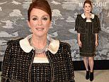 Mandatory Credit: Photo by Richard Young/REX Shutterstock (5231368dc)\n Julianne Moore\n Chanel Exhibition Party at Saatchi Gallery, London, Britain - 12 Oct 2015\n \n