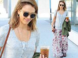 Jessica Alba is seen leaving Le Pain cafe in West Hollywood, CA\n\nPictured: Jessica Alba\nRef: SPL1148356  121015  \nPicture by: DutchLabUSA / Splash News\n\nSplash News and Pictures\nLos Angeles: 310-821-2666\nNew York: 212-619-2666\nLondon: 870-934-2666\nphotodesk@splashnews.com\n