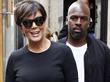 Kris Jenner and Corey Gamble out and about in Paris  Pictured: Kris Jenner and Corey Gamble Ref: SPL1143397  041015   Picture by: Splash News  Splash News and Pictures Los Angeles: 310-821-2666 New York: 212-619-2666 London: 870-934-2666 photodesk@splashnews.com