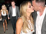 Picture Shows: Ola Jordan, James Jordan  October 12, 2015\n \n 'Strictly Come Dancing' star Ola Jordan and her husband James arrive at Mint Leaf restaurant in Haymarket, London to celebrate their 12th wedding anniversary. Ola was looking stylish in a monochrome ensemble paired with black pumps and a white Chanel bag. \n \n Non Exclusive\n WORLDWIDE RIGHTS\n \n Pictures by : FameFlynet UK © 2015\n Tel : +44 (0)20 3551 5049\n Email : info@fameflynet.uk.com