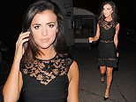 Picture Shows: Lucy Mecklenburgh  October 10, 2015    Former 'TOWIE' star Lucy Mecklenburgh seen out with friends at The Crown restaurant in Brentwood, Essex.     Lucy was dressed stylishly in a little black dress with lace detail.    Exclusive - All Round  WORLDWIDE RIGHTS  Pictures by : FameFlynet UK © 2015  Tel : +44 (0)20 3551 5049  Email : info@fameflynet.uk.com