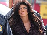 NEWARK, NJ - MARCH 04:  Teresa Giudice us seen outside a federal criminal court, where she faces mortgage and bankruptcy fraud charges with her husband Joe Giudice on March 4, 2014 in Newark, New Jersey.  (Photo by Alo Ceballos/GC Images)