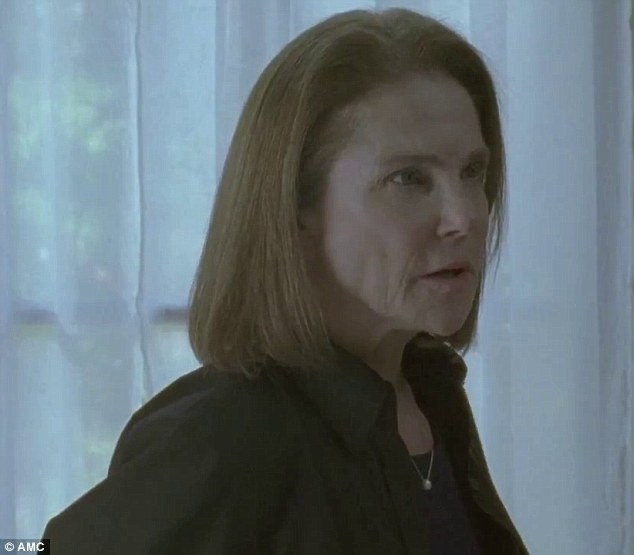 Confidant: In the four-minute trailer, it appears as if Morgan has built a relationship with congresswoman Deanna Monroe (Tovah Feldshuh) who is the leader of Alexandria
