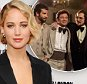 """LONDON, ENGLAND - OCTOBER 13:  Jennifer Lawrence attends the premiere for """"Serena"""" during the 58th BFI London Film Festival at Vue West End on October 13, 2014 in London, England.  (Photo by Stuart C. Wilson/Getty Images for BFI)"""