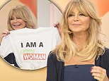 EDITORIAL USE ONLY. NO MERCHANDISING\n Mandatory Credit: Photo by Ken McKay/ITV/REX Shutterstock (5231283o)\n Goldie Hawn\n 'Loose Women' TV Programme, London, Britain - 12 Oct 2015\n \n
