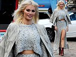 Danielle Armstrong, Chloe Sims, James bennewith and Dan Edgar are seen filming in Brentwood. Featuring: chloe sims Where: London, United Kingdom When: 13 Oct 2015 Credit: WENN.com