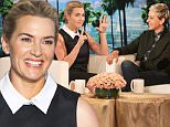 On Monday, October 12th Kate Winslet makes an appearance on ¿The Ellen DeGeneres Show.¿  Kate reveals that she is ¿feeling fantastic¿ after turning 40!  Plus, since Kate wants to learn how to Garden, Ellen gifts her with a wheelbarrow full of gardening tools brought out by hunky staff member Nick The Gardner.