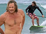EXCLUSIVE: A shirtless Jason Lewis goes stand up paddle boarding while on vacation in Hawaii.  Pictured: Jason Lewis Ref: SPL1141805  081015   EXCLUSIVE Picture by: Splash News  Splash News and Pictures Los Angeles: 310-821-2666 New York: 212-619-2666 London: 870-934-2666 photodesk@splashnews.com