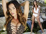 COPYRIGHT KARIS KENNEDY tamara ecclestone swimwear shoot los angeles minimum fee applies contact robin prior to use