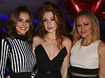 LONDON, ENGLAND - OCTOBER 04:  (L to R) Cheryl Fernandez-Versini, Nicola Roberts and Kimberley Walsh attend Nicola Roberts 30th birthday party at Hotel Chantelle London organised by Love Entertainment and sponsored by Ciroc Ultra-Premium Vodka on October 4, 2015 in London, United Kingdom.   Pic Credit: Dave Benett
