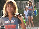 Picture Shows: Nahla Aubry, Halle Berry  October 13, 2015    Actress, Halle Berry and her daughter, Nahla stop by a friends house in Beverly Hills, California.     Halle's show 'Extant' has been canceled by CBS.    Exclusive - All Round  UK RIGHTS ONLY    Pictures by : FameFlynet UK © 2015  Tel : +44 (0)20 3551 5049  Email : info@fameflynet.uk.com