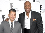 Mandatory Credit: Photo by Henry Lamb/Photowire/BEI/REX Shutterstock (1705101bj)  Rob Kardashian and Lamar Odom  2012 E! Upfront, New York, America - 30 Apr 2012