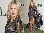 La Mer Celebrates 50 Years of an Icon at Siren Studios in Hollywood, California.  Pictured: Kate Hudson Ref: SPL1150370  131015   Picture by: Russ Einhorn / Splash News  Splash News and Pictures Los Angeles: 310-821-2666 New York: 212-619-2666 London: 870-934-2666 photodesk@splashnews.com
