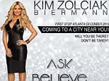 13h kimzolciakbiermannI'm so flipping EXCITED!!!!! I have talked about this for years and I'm finally doing it! You guys really motivated me after watching some of my speech on Don't Be Tardy the comments/emails you guys wrote me were awesome. I didn't get where I am on my own I have an incredible teacher, her name is Angie and she has taught me all I know and I want to share everything I have learned with you. It's not by accident I'm living my dream! ?? my first stop will be in Atlanta, followed by over 20 more cities! Who's coming? #AskBelieveReceive #Manifesting #EmpoweringWomen