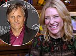 Bravo chat host Andy Cohen is joined by actress 2 time Oscar winning actress Cate Blanchett, promoting her new film 'Truth' with Robert redford that opens Friday and also the legendary Julie Andrews.