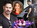 Picture Shows: Joe Manganiello  October 12, 2015\n \n 'Magic Mike' star Joe Manganiello stops to buy some flowers from Mark's Garden while out and about in Studio City, California.\n \n Non Exclusive\n UK RIGHTS ONLY\n \n Pictures by : FameFlynet UK © 2015\n Tel : +44 (0)20 3551 5049\n Email : info@fameflynet.uk.com
