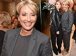 LONDON, ENGLAND - OCTOBER 14:  Emma Thompson attends as Boodles celebrates the opening of their new Bond Street flagship with special guest Emma Thompson and canape menu designed by Hemsley + Hemsley on October 14, 2015 in London, England.  \nPic Credit: Dave Benett