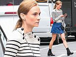 Picture Shows: Diane Kruger  October 13, 2015    'Infiltrator' actress Diane Kruger spotted out running errands in New York City, New York.     Diane looked stylish as always in a striped sweater and denim skirt.    Exclusive - All Round  UK RIGHTS ONLY    Pictures by : FameFlynet UK © 2015  Tel : +44 (0)20 3551 5049  Email : info@fameflynet.uk.com