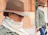 Mandatory Credit: Photo by Startraks Photo/REX Shutterstock (5239310b)\n Jennifer Aniston\n Jennifer Aniston out and about, New York, America - 13 Oct 2015\n Jennifer Aniston Leaving her TriBeCa Hotel\n