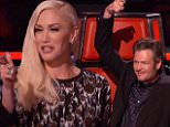 """The Voice LOS ANGELES, CA. ?Tuesday, October 13, 2015. Caption: The Voice LOS ANGELES, CA. ? Tuesday, October 13, 2015.  ?The Voice? It was the second night of The Battle Rounds as the coaches paired their singers together. The coaches recruited advisors to assist them. Adam Levine was joined by rock legend John Fogerty, Blake Shelton paired with Brad Paisley, Gwen Stefani teamed with Selena Gomez and Pharrell Williams paired up with Missy Elliott. The host is Carson Daly.  Photograph:© NBC """"Disclaimer: CM does not claim any Copyright or License in the attached material. Any downloading fees charged by CM are for its services only, and do not, nor are they intended to convey to the user any Copyright or License in the material. By publishing this material, The Daily Mail expressly agrees to indemnify and to hold CM harmless from any claims, demands or causes of action arising out of or connected in any way with user's publication of the material.""""  Photographer:  Loaded on 14"""