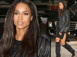 eURN: AD*184445222  Headline: FAMEFLYNET - Ciara Appears On The Live With Kelly And Michael Show In NYC Caption: Picture Shows: Ciara  October 13, 2015    Ciara makes an appearance on the 'Live! With Kelly And Michael' show in New York City, NY.    The singer, who was decked out in all black for her guest appearance, recently laughed off criticisms of a 'Ciara Curse' after her NFL Seattle Seahawk boyfriend's recent losing streak. Some fans, who claim she caused a lull in the careers of ex-boyfriends Amar'e Stoudemire, Bow Wow and Future, started a GoFundMe campaign to ultimately distract her from her new relationship.    Non Exclusive  UK RIGHTS ONLY    Pictures by : FameFlynet UK © 2015  Tel : +44 (0)20 3551 5049  Email : info@fameflynet.uk.com Photographer: 922 Loaded on 13/10/2015 at 18:03 Copyright:  Provider: FameFlynet.uk.com  Properties: RGB JPEG Image (39551K 1761K 22.5:1) 3000w x 4500h at 72 x 72 dpi  Routing: DM News : GeneralFeed (Miscellaneous) DM Showbiz : SHOWBI