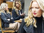 Katherine Heigl, Laverne Cox and Dule Hill are seen filming Doubt in Tribeca, New York City, 14 October 2015.\n14 October 2015.\nPlease byline: Vantagenews.com