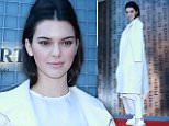 Kendall Jenner attends the Ports 1961 presentation during the Spring and Summer 2015 Shanghai Fashion Week at Shanghai Exhibition Center on October 13, 2015 in Shanghai, China.  (Photo by ChinaFotoPress/ChinaFotoPress via Getty Images) Photographer: ChinaFotoPress  Loaded on 14/10/2015 at 02:29 Copyright:  Provider: ChinaFotoPress via Getty Images  Properties: RGB JPEG Image (19038K 1837K 10.4:1) 3000w x 2166h at 96 x 96 dpi  Routing: DM News : GroupFeeds (Comms), GeneralFeed (Miscellaneous) DM Showbiz : SHOWBIZ (Miscellaneous) DM Online : Online Previews (Miscellaneous), CMS Out (Miscellaneous)