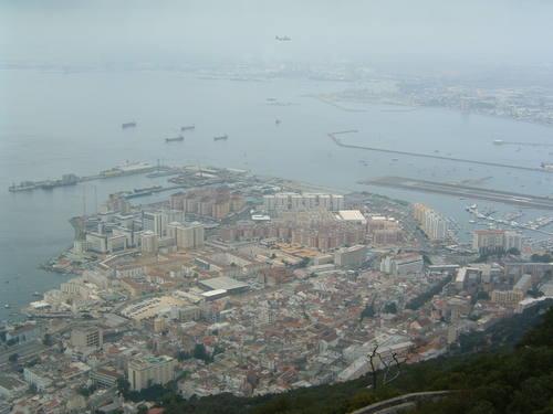 Gibraltar From The Mountain