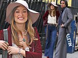 """Olivia Wilde and Bobby Cannavale pictured filming a scene at the """"Vinyl"""" set inside a local park in Uptown, Manhattan.\n\nPictured: Olivia Wilde and Bobby Cannavale\nRef: SPL1149989  141015  \nPicture by: Jose Perez / Splash News\n\nSplash News and Pictures\nLos Angeles: 310-821-2666\nNew York: 212-619-2666\nLondon: 870-934-2666\nphotodesk@splashnews.com\n"""