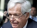 FILE - In this June 9, 2015 file photo, former House Speaker Dennis Hastert leaves the federal courthouse in Chicago. A deadline for Hastertís legal team to file pretrial paperwork passed with nothing new filed, suggesting the former House speaker could be close to a plea deal that would avert a trial and help keep details of the hush-money case secret, legal experts said Wednesday, Oct. 14, 2015. (AP Photo/Christian K. Lee, File)
