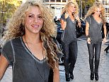 Colombian singer Shakira arrives at Hotel Palauet in Barcelona for the launch of its game Love Rocks in Barcelona on October 15, 2015 in Barcelona, Spain. \n\nPictured: Shakira\nRef: SPL1146343  151015  \nPicture by: Elkin Cabarcas/Splash News\n\nSplash News and Pictures\nLos Angeles: 310-821-2666\nNew York: 212-619-2666\nLondon: 870-934-2666\nphotodesk@splashnews.com\n
