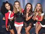 """(L - R) Singers Leigh-Anne Pinnock, Perrie Edwards, Jesy Nelson and Jade Thirwall of Little Mix attend """"America's Got Talent"""" post show red carpet at Radio City Music Hall on September 9, 2015 in New York City.    NEW YORK, NY - SEPTEMBER 09:  (Photo by Gary Gershoff/Getty Images)  """"Please note this image forms part of the Getty Premium Access agreement and may incur an additional fee. If reused it must be downloaded from the Getty site"""""""