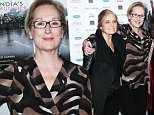 """NEW YORK, NY - OCTOBER 14:  (L-R) Gloria Steinem, Meryl Streep, Leslee Udwin and Robin Morgan attend the New York Premiere of """"India's Daughter"""" at NYIT Auditorium on October 14, 2015 in New York City.  (Photo by Rob Kim/Getty Images)"""