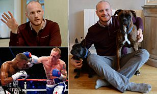 GEORGE GROVES: I was so stressed after losing to Carl Froch but a friend got me help... it