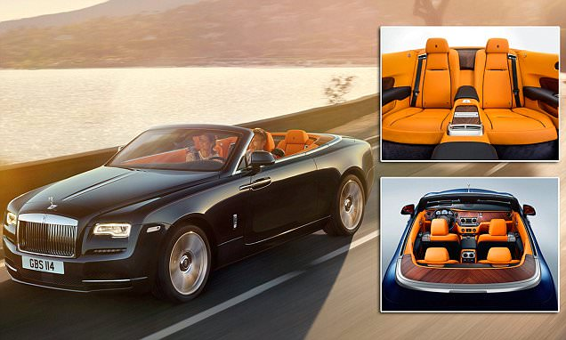 New Rolls-Royce Dawn £250k convertible revealed as its 'sexiest car' ever