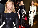 LONDON, ENGLAND - OCTOBER 14:  Actress Cate Blanchett attends The Academy Of Motion Pictures Arts & Sciences new members reception hosted by Ambassador Matthew Barzun and Mrs Brooke Barzun at the American Ambassadors Residence, Winfield House, Regents Park on October 14, 2015 in London, England.