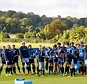 14/10/14 SCOTLAND RUGBY TRAINING  SURREY SPORTS PARK - LONDON Scotland prepare ahead of their RWC Quarter Final clash against Australia