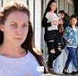 July 9th 2015: My Kitchen Rules villain Chloe James went to the movies with her son Dylan on Thursday in the Perth suburb of Innaloo.\n Mandatory Credit: INFphoto.com Ref: infausy-42