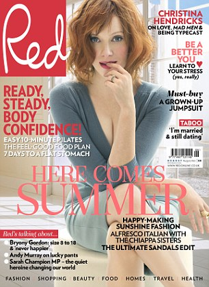 Kelly speak to Red magazine for it's June issue