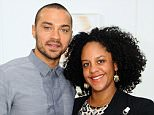 LOS ANGELES, CA - OCTOBER 13: Aryn Drakelee-Williams and Jesse Williams attend The Mistake Room's Benefit Auction  on October 13, 2013 in Los Angeles, California. (Photo by Stefanie Keenan/WireImage)