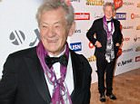 Mandatory Credit: Photo by Ray Tang/REX Shutterstock (5249386s)  Ian McKellen  Attitude Magazine Awards, London, Britain - 14 Oct 2015