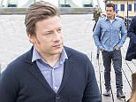 October 15, 2015\n \n Celebrity chef Jamie Oliver is seen for the first time since news broke that his £7 million home was ransacked by burglars who stole possessions worth thousands.\n \n The star was seen alongside actor Orlando Bloom on the Southend Pier in Essex, England. The pair were filming scenes for an upcoming episode of 'Food Fight Club'.\n \n Exclusive\n WORLDWIDE RIGHTS\n \n Pictures by : FameFlynet UK © 2015\n Tel : +44 (0)20 3551 5049\n Email : info@fameflynet.uk.com